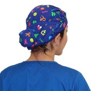 Gorro Azul Rey Health & Care - Mujer