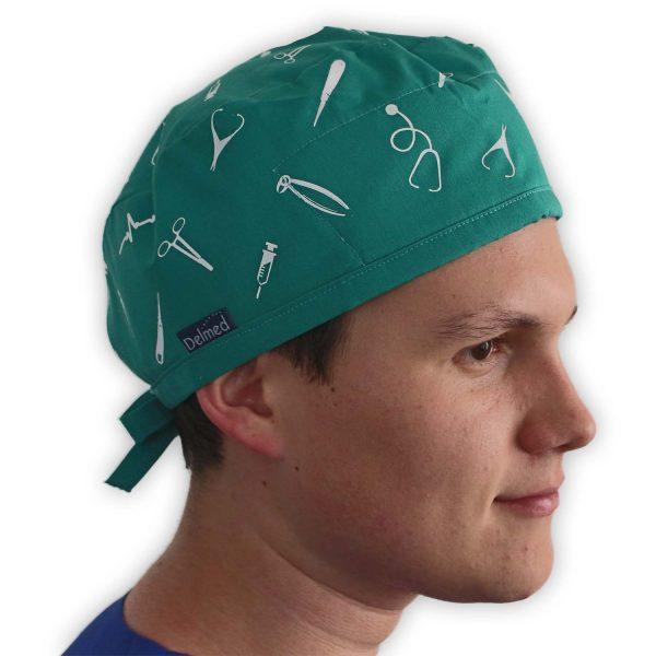 Gorro verde Cirujano Dentista - Unisex