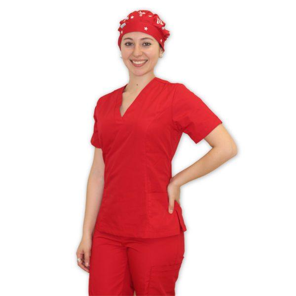 Traje modelo Cirugía Color Rojo